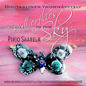 Digitaalinen taidenäyttely Butterflies in the Sky Exhibition 2018